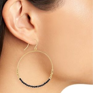 GORJANA, Laguna Stone Bead Hoop Earrings